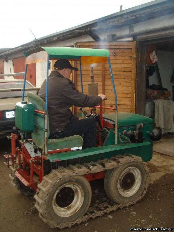 Трактора в домашних условиях
