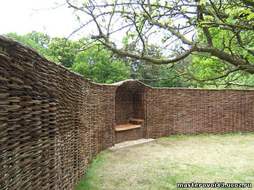 Забор - плетень