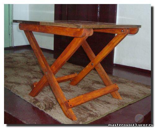 Раскладной столик своими руками видео фото 496